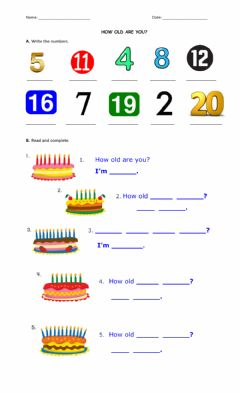 Interactive worksheet Unit 3 Review