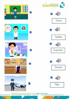 Interactive worksheet Jobs professions