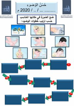 Interactive worksheet حسن الوضوء
