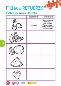 Interactive worksheet Expresión escrita
