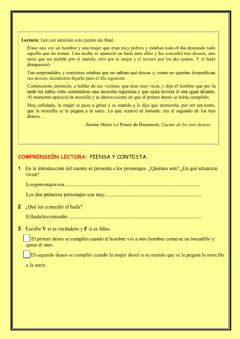 Interactive worksheet Repaso tema 12