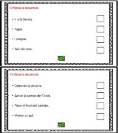 Interactive worksheet Ordenar la secuencia 6