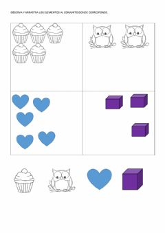 Interactive worksheet Conjunto
