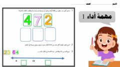 Interactive worksheet مهمة أداء 1