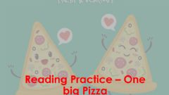 Interactive worksheet Pizza