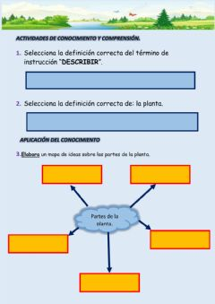 Interactive worksheet Bioacción (1,2,3)