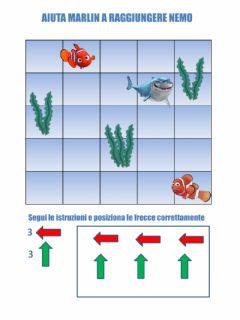 Interactive worksheet Percorso Nemo e Marlin