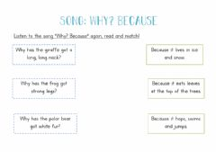 Interactive worksheet Why? Because