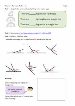 Ficha interactiva Week 11 - Thursday - Maths
