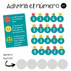 Interactive worksheet Adivina el número - 3