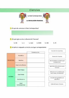 Interactive worksheet La Revolución Francesa