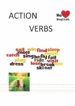 Interactive worksheet ACTIONS vocabulary