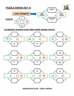 Interactive worksheet Puzzle darab (set 4)