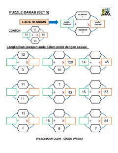 Interactive worksheet Puzzle darab (set 5)