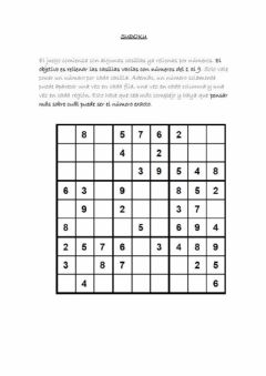 Interactive worksheet Sudoku