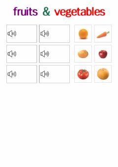 Interactive worksheet How many carrots-낱말