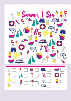 Interactive worksheet Summer I Spy