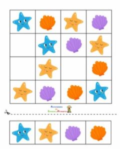 Interactive worksheet Sudoku 2