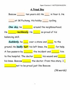 Interactive worksheet Complete the text using the correct verbs