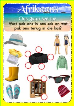 Ficha interactiva Week 18 - Afrikaans - Thursday