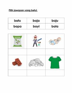 Interactive worksheet Latihan KVKV