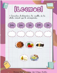 Interactive worksheet Repaso letra P