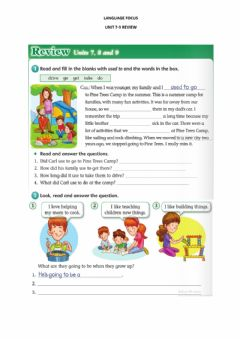 Interactive worksheet 7-9 Review