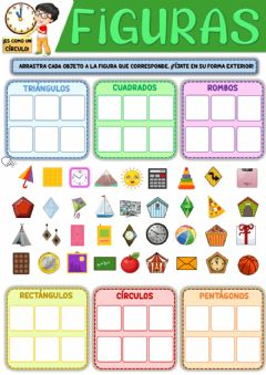 Interactive worksheet Las figuras planas