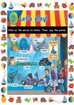 Interactive worksheet 2: Let's Play