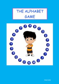 Interactive worksheet The Alphabet Game