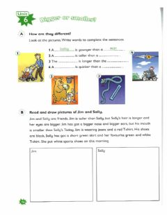 Interactive worksheet Bigger or smaller
