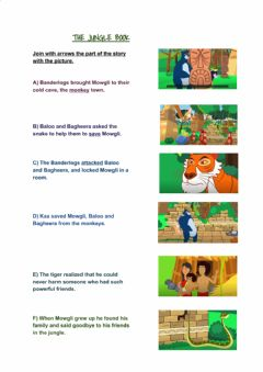 Interactive worksheet The jungle book