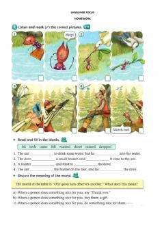 Interactive worksheet 4th Fables