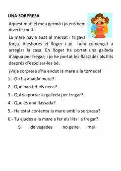 Interactive worksheet Lectura d