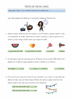 Interactive worksheet Fin de curso