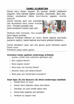 Interactive worksheet DANEL ELURRETAN