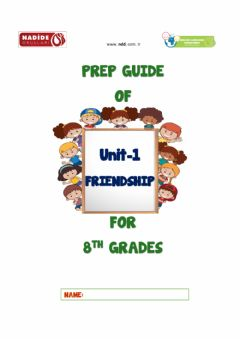 Ficha interactiva 8th Grades Unit 1-Friendship Wordbank