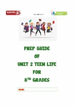 Ficha interactiva 8th Grades Unit 2 TEEN LIFE Wordbank