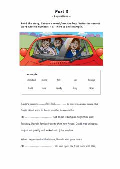 Interactive worksheet Flyers Part 3