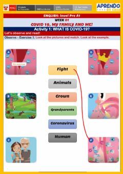 Interactive worksheet What is COVID-19?