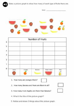 Interactive worksheet Picture graph worksheet
