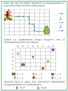 Interactive worksheet Coordinate