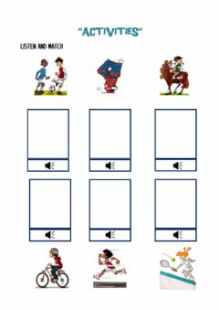 Interactive worksheet Activities!