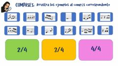 Interactive worksheet Compases