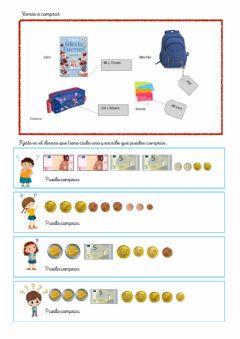 Interactive worksheet Vamos a comprar