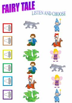 Interactive worksheet Fairy tale