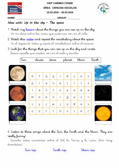 Interactive worksheet Science - Ficha 2 - 01.06-05.06