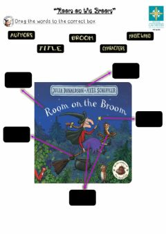 Ficha interactiva Room on the broom -Cover page-