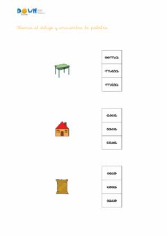 Interactive worksheet Conciencia fonológica S