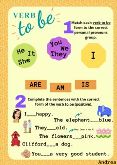 Interactive worksheet Verb -to be-